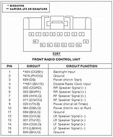 1995 lincoln town car stereo wiring diagram 2004 lincoln ls radio wiring diagram