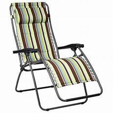 fauteuil de jardin pliable chaise longue de jardin transat multipositions pliable