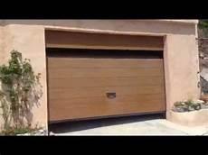 porte garage motorisée porte de garage sectionnelle plafond g60 motoris 233 e et