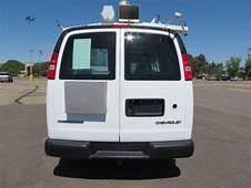 Buy Used 2003 Chevrolet Express 2500 Cargo Van 7KW