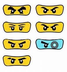 Ninjago Malvorlagen Augen Anleitung Pack Of 7 Lego Ninjago By Partyummy On Etsy
