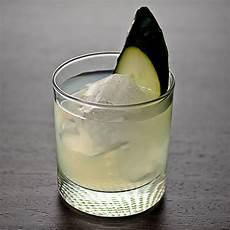 cucumber basil lime gimlet cocktail recipe