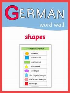 german math worksheets 19686 german word wall geometric shapes 2nd grade math worksheets math worksheets german words