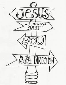 coloring page plus christian devotion this is awesome jesus will point you in the right