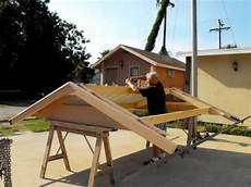metal roofing for small buildings how to build a small roof video youtube