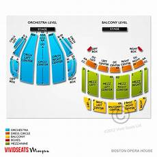 boston opera house seating plan boston opera house tickets boston opera house