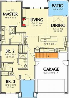 craftsman house plans with basement plan 69554am 3 bedroom craftsman ranch home plan