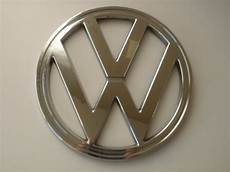 vw cer t2 front badge chrome bay window 1973 79