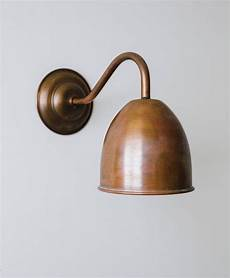 humphrey aged copper wall light in 2020 copper wall light industrial wall lights wall lights