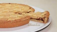 crostata crema pasticcera e nutella crostata con nutella e crema pasticcera ricetta semplice e golosa youtube