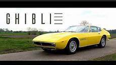 Maserati Ghibli 4 9 Ss 1970 Coupe Test Drive In Top Gear