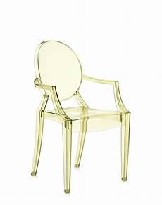fauteuil louis ghost fauteuil louis ghost de kartell jaune