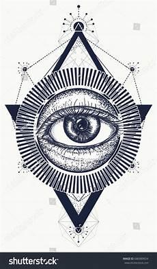 spiritual meaning of black eyes all seeing eye tattoo art vector freemason and spiritual symbols alchemy medieval religion
