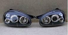 vauxhall corsa b 1994 2000 black projector headlights
