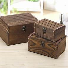 decorative nesting boxes set of 3 vintage style wood decorative nesting boxes