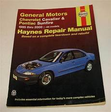 auto repair manual online 1999 pontiac sunfire head up display haynes 38016 manual general motors chevrolet cavalier pontiac sunfire 1995 2000 chevrolet