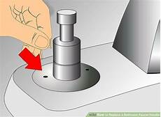 how to replace kitchen faucet handle how to replace a bathroom faucet handle with pictures wikihow