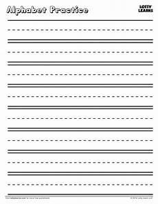 practice makes blank alphabet practice sheet lotty learns alphabet practice sheets