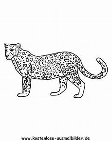 Ausmalbilder Leopard Ausdrucken Ausmalbild Leopard 2 Zum Ausdrucken