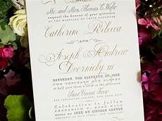 What Wedding Invitations Should Include