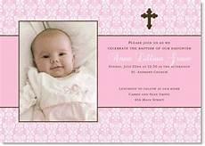 invitation card christening layout baptismal invitation template for new baptism