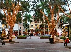 Downtown Naples   5th Avenue South. Great for dining