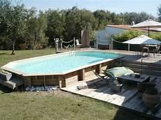 piscine hors semi enterree piscine hors sol bois semi enterr 233 e chauffage piscine