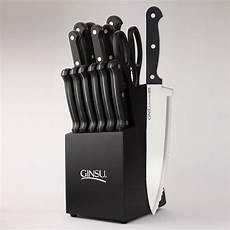 Dishwasher Safe Kitchen Knives Ginsu Dishwasher Safe Series 14 Stainless Steel