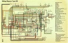 911 912 porsche factory color coded wiring diagrams 1965 1968 pelican parts