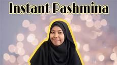 Pashmina Instan Promotion Tutorial Bahasa Inggris