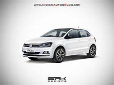 2019 Vw Polo Facelift Iab Rendering