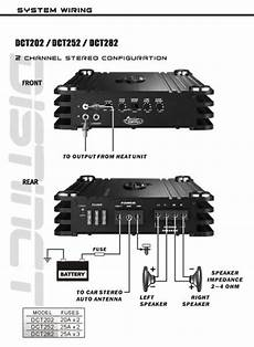 com lanzar dct252 3000 watt 2 channel full fet class ab lifier car electronics