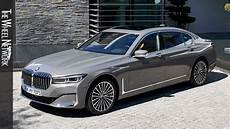 2020 bmw 750li xdrive bernina grey amber effect exterior interior youtube
