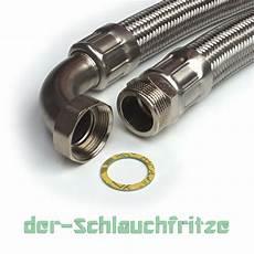 panzerschlauch 1 1 4 quot ag x 1 1 4 quot 220 m bogen dn32 f 252 r