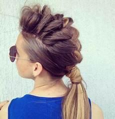 braid hawk hair pinterest hair braided hairstyles