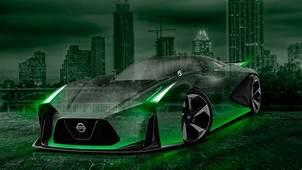 Nissan GTR 2020 Concept Crystal City Car 2015 Wallpapers