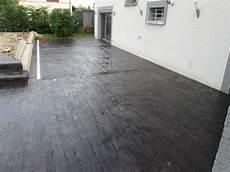 dalle terrasse beton noir veranda styledevie fr
