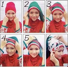 Cara Memakai Jilbab Dua Warna Untuk Wisuda Ide Perpaduan