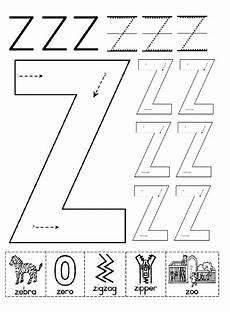 letter z printable worksheets 24267 uppercase letter z worksheet for kindergartners preschool crafts