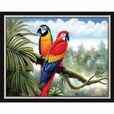 Contoh Lukisan Hewan Di Kanvas Contoh Gambar Lukisan