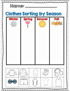 free printable worksheets on seasons kindergarten 14912 weather and seasons unit 60 pages with assessments motor math vocabulary and for the