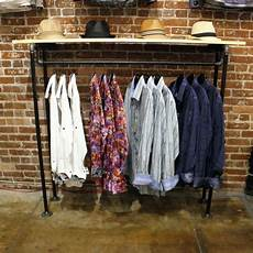 Clothing Rack Industrial Wall Rack Retail Store Fixture