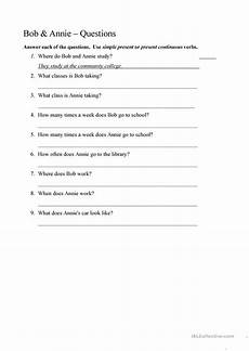 two person dialogue present tense worksheet free esl printable worksheets made by teachers