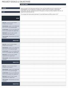 free goal setting and tracking templates smartsheet