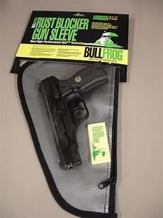 bullfrog handgun sleeve shrink wrap services products zap