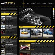 Auto Portal Template Free Website Templates In Css Html