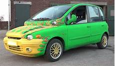 fiat multipla tuning fiat multipla can it really get uglier 171 secret scotland