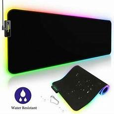 led 10 couleur tapis de souris grand large 800x300x4