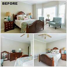 before and after budget bedroom makeover reveal bedroom