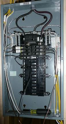 Exle Of Professional Residential Panel Wiring